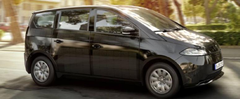 Sono Motors Sion är den elbil med klart lägst totala kostnader (TCO).