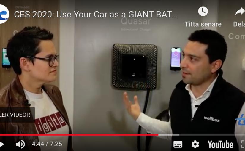 Laddaren för både villan nätet och elbilen – Wallbox Quazar