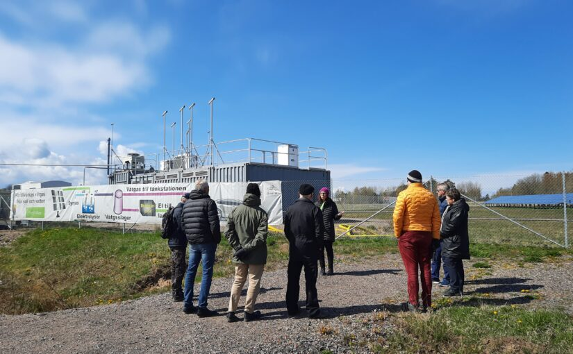 Studieresa med Västmanland Upplands Energiförening till Electric Village i Mariestad.